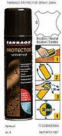 Водоотталкивающий спрей для обуви Tarrago Protector Universal, 250мл,  цв. бесцветный