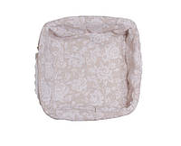 Хлебница плетеная из лозы Wite rose ТМ Прованс