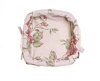 Хлебница плетеная из лозы Large Pink Rose ТМ Прованс