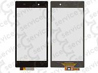 Тачскрин для Sony C6902 L39h Xperia Z1/ C6903/ C6906/ C6943, чёрный, оригинал (Китай)
