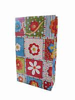 Подарочный пакет Цветные цветы 280х165 (Подарочные пакеты)