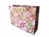 Подарочный пакет Романтические ромбики 300х400 (Подарочные пакеты)