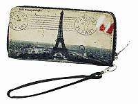 Клатч - кошелек Приветствие из Парижа (Кошельки)