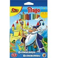 Фломастеры Olli 11цв Mago (магические)