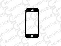 Стекло для iPhone 5G/ 5S/ 5C, чёрное, оригинал (Китай)