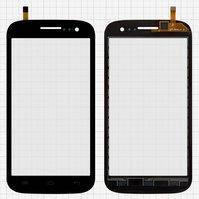 Сенсорный экран для мобильного телефона Fly IQ451Q Quattro Vista, черный