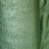 Шторы зеленые софт в гостиную