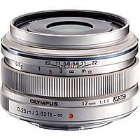 OLYMPUS  M.ZUIKO DIGITAL 17mm f/1.8 Silver (официальная гарантия)