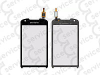 Тачскрин для Samsung S7710 Galaxy Xcover 2, чёрный, оригинал (Китай)