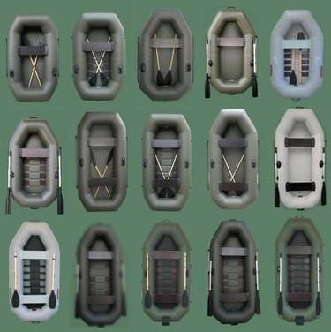 Гребные надувные ПВХ лодки Sportex