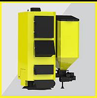 Котел комбинированный пеллетный KRONAS COMBI 17-125 кВт. Гарантия 5 лет. Эксплуатация 20 лет.
