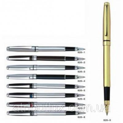 Ручка гелевая пишет синим RP826 корпус ассорти