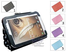 """Откидной чехол для Samsung n5100 Galaxy Note 8.0 с рисунком """"Горошек"""""""