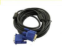 Видео кабель PPVGA 2 феррит. 5 м