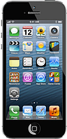 """Китайский айфон 5 X5, дисплей 4"""", 2 SIM, Java. Black. Качественная копия iPhone 5"""