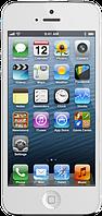 """Китайский айфон 5 X5, дисплей 4"""", 2 SIM, Java. White, фото 1"""