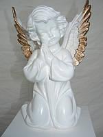 Фигуры интерьерные и сувенирные ангелы гипс