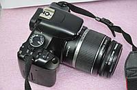 Зеркальный фотоаппарат Canon EOS 450D Kit (18-55mm) - CMOS - 12 Мп. - в Идеале!