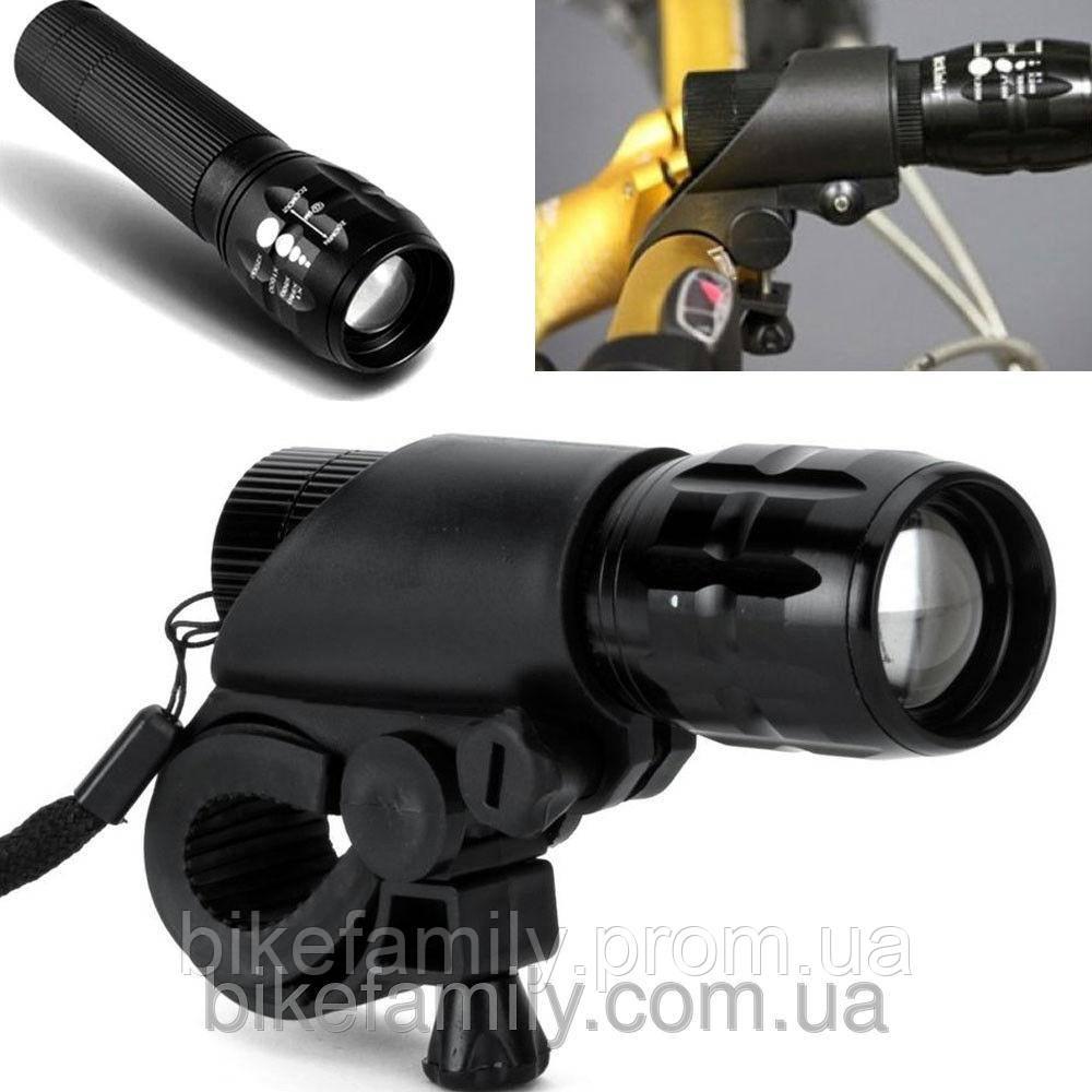 Светодиодный фонарик с креплением