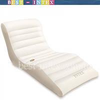 Кресло шезлонг intex 56861