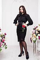 Вечернее платье большого размера 50 52 54