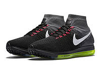 Мужские кроссовки Nike Zoom All Out Flyknit Black Grey