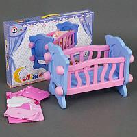 "Гр Кроватка для куклы 4166 (4) ""ТЕХНОК"""