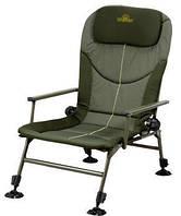 Кресло карповое складное с подушкой-подголовником  Golden Catch с чехлом