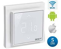 DEVIreg Smart - терморегулятор для подогрева пола с интеллектуальным таймером и управлением через сеть Wi-Fi c