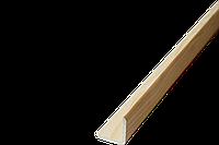 Куток зовнішній декор гладкий 30*30*2000-2500мм/зрощ