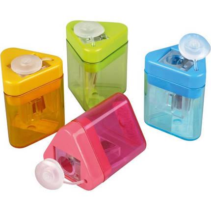 Точилка KUM Mini-Tri с контейнером, фото 2