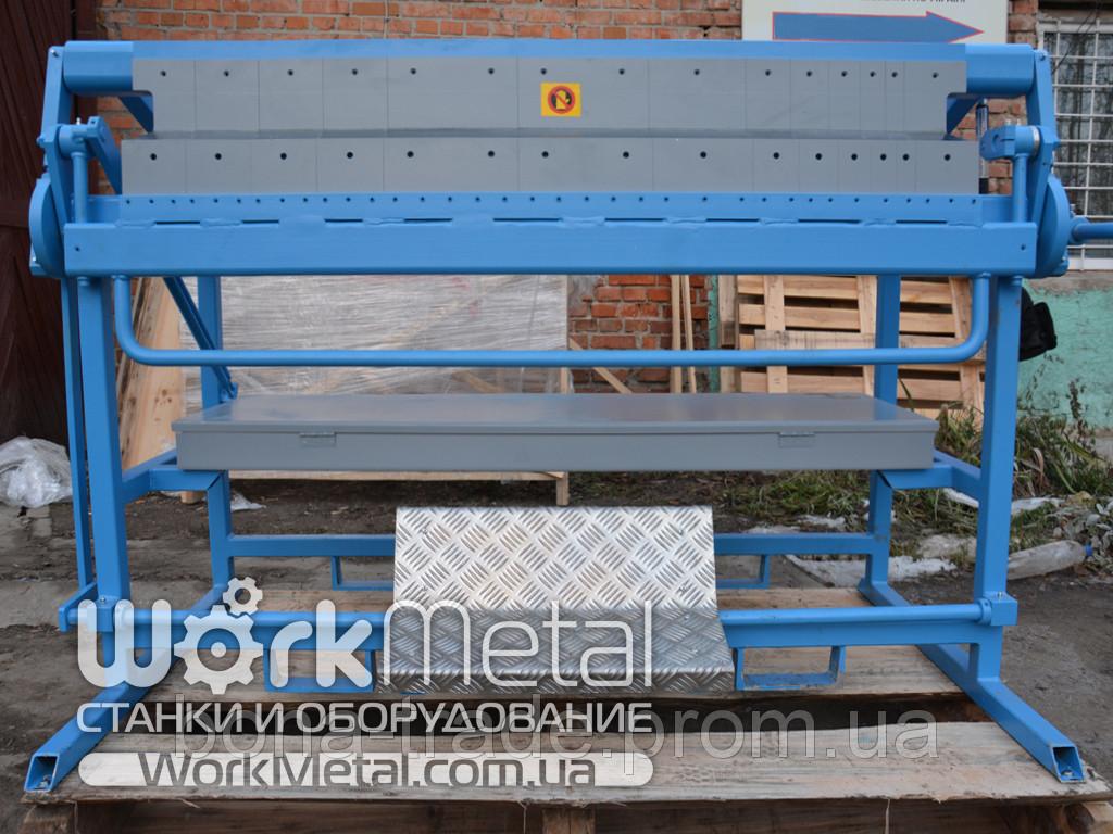 Листогибочный станок для листового металла сегментный Mazanek
