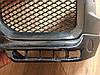 Накладки на передний бампер Mercedes W463