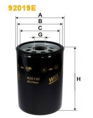 Фильтр маслянный 92019E(WIX)