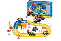 Игровой набор автотрек Вспыш (Blaze) 2 машинки (ZY-654)