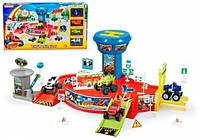 Игровой набор парковка гараж Вспыш (Blaze) и Чудо машинки (828-58)