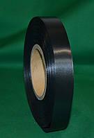 Сатиновая лента  TSN  черная 15 мм x 200 метров