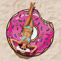 Пляжная подстилка Пончик