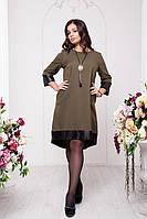 Платье - туника больших размеров 50 52 56