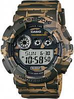 Наручные часы Casio GD-120CM-5ER ОРИГИНАЛ камуфляж, водонепроницаемые