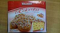 Пасхальный кекс la Colomba Balocco (голубь) с цукатами и миндалем, 750 г Италия, фото 1