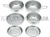 Набор посуды - 3 кастрюли с крышками