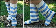 Модные льняные стильные сапожки с открытым носком . Арт-0634