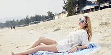 Пляжная подстилка круглая Мандала, фото 3