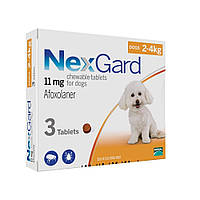 Nex Gard (таблетки от блох и клещей) для собак 2-4кг