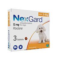 Nex Gard (таблетки от блох и клещей) для собак S 2-4кг