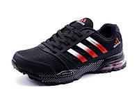 Кроссовки Adidas Cosmic Marathon Air, текстиль, мужские, черные, р. 41 46