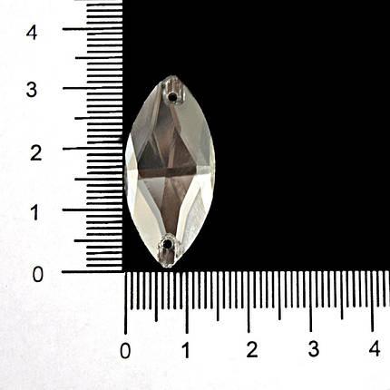 Камни-стразы пришивные арт. 3052 15х31 мм, фото 2