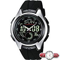 Спортивные мужские часы Casio AQ-160W-1BVEF, Оригинал. Кварцевые часы.