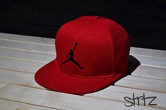 Снепбек Jordan красный